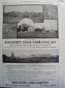 Wavertree Stock Farm For Sale 1902 Ad