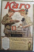 Karo Syrup 1919 Ad.