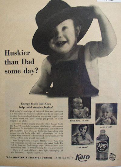 Karo Syrup 1953 Ad