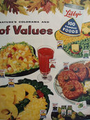Libbys 100 Famous Foods 1957 Ad