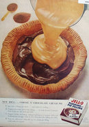 Jell-O Pudding and Pie Filling 1956 Ad