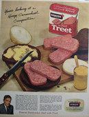Armour Star Treet 1956 Ad