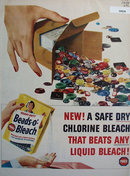 Purex Beads O Bleach 1958 Ad