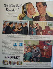 Crosley Radio and Phonograph 1945 Ad