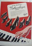 Blue Ribbon Shoemakers Naturalizer 1943 Ad
