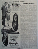 Massagic Air Cushion Shoes 1955 Ad