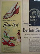 Trim Tred Shoes 1953 Ad