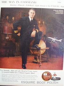 Esquire Boot Polish 1959 Ad
