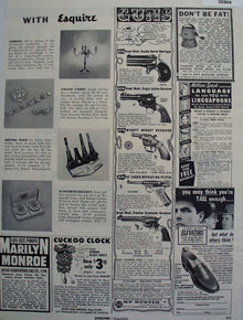 Order By Mail With Esquire 1955 Ad