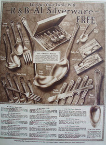 Youth Companion R And B Silverware 1926 ad