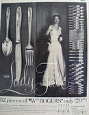 Wm. Rogers Silverplate 1957 ad.