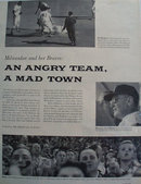 Milwaukee and Her Braves 1957 Article