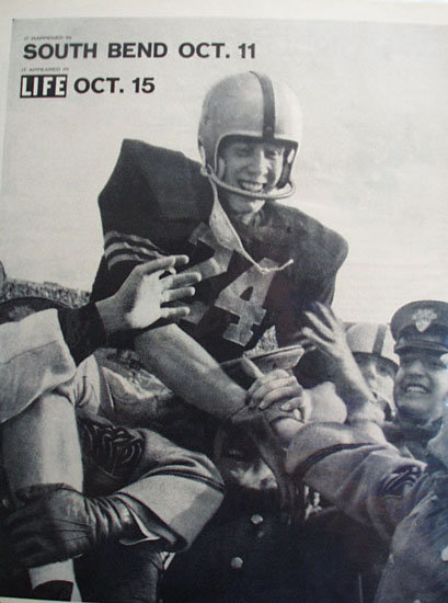 Notre Dame And Army Football 1958 Article