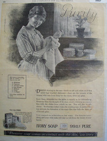 Ivory Soap It Floats 1921 Ad