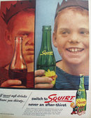Squirt Soft Drink 1957 Ad
