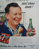Seven Up All Family Drink 1956 Ad