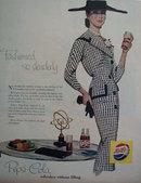 Pepsi Cola Soft Drink 1956 Ad