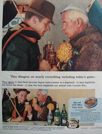 Canada Dry Soda And Ale 1956 Ad