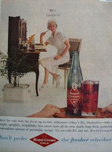 Royal Crown Cola RC 1959 Ad
