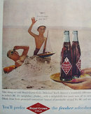 Royal Crown Cola Fresher Refresher 1959 Ad