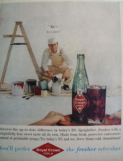 Royal Crown Cola Yes Siree 1959 Ad