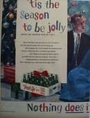 Seven Up Tis The Season To Be Jolly 1958 Ad