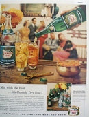 Canada Dry Soda And Ale 1956 Ad