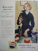 Pepsi Cola Modern Taste 1953 Ad