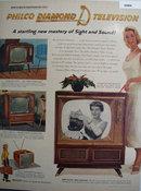 Philco Miss America Television 1956 Ad.