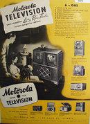 Motorola Golden View Television 1948 Ad