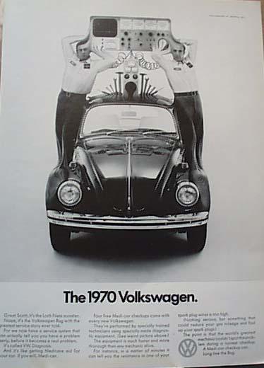 1970 Volkswagen Bug Introduces Diagnosis