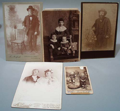 5 vintage pictures, Henry Ritchie,