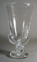 Steuban Glass Vase Rope Twist Stem