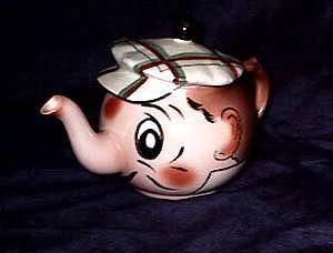 Wade Teapot, neat character teapot