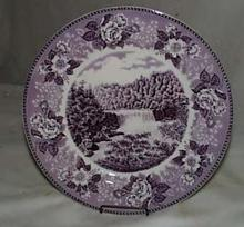 Old english Staffordshire sov plate