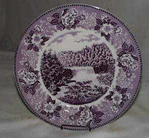 Old english Staffordshire sov plate