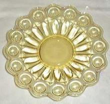 Tiffin Miscellaneous Salad Plate in Yellow