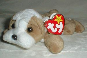 TY Beanie Baby, Wrinkles Dog