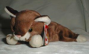 Ty Beanie Baby, Pounce Cat