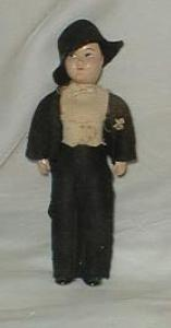 Story book doll, man groom