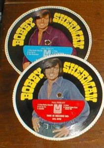 Bobby Sherman cereal box records