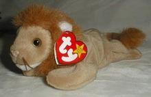 TY Beanie Baby, Roary Lion