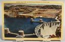 Boulder Dam Crest Post Card, 1947