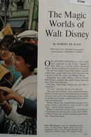 The Magic Worlds of Walt Disney 1963 Article