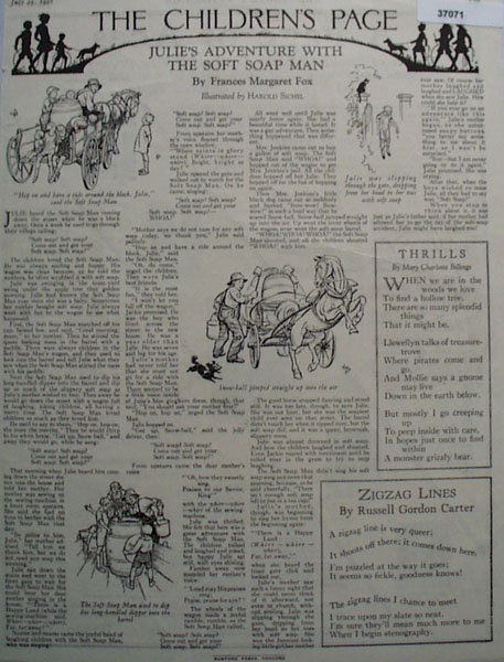 Youths Companion Youths Page 1926 Article