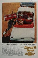 Chevrolet ll Nova Car 1962 Ad