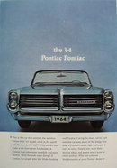 Pontiac Bonneville And Tempest Car 1963 Ad