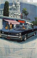 Pontiac Grand Prix Car 1963 Ad.