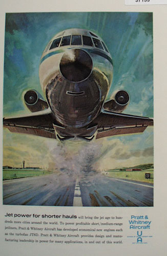 Pratt And Whitney Aircraft 1963 Ad