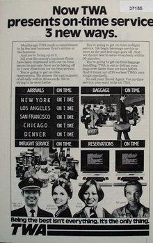 TWA Airline 1977 Ad